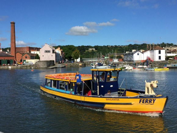 Ferry in Bristol Harbour Photo: Heatheronhertravels.com