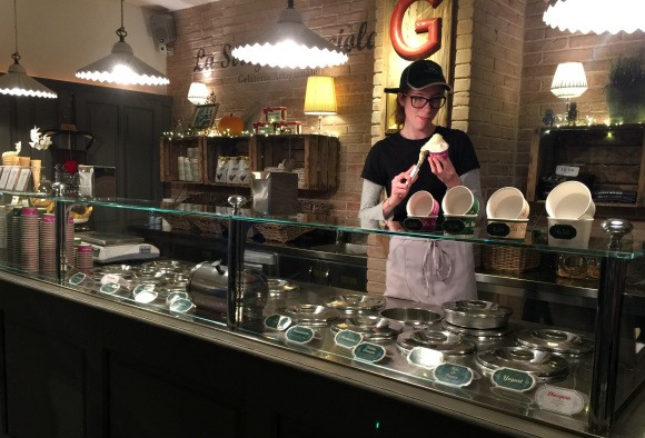 La Strega Nocciola Gelaterie in Florence Photo: Heatheronhertravels.com