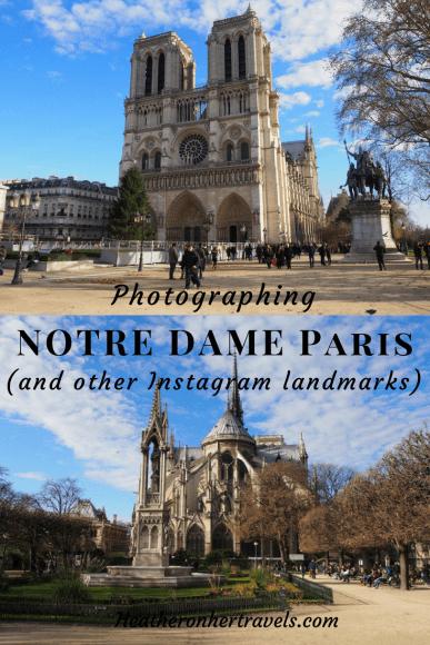 Photographing Notre Dame Paris