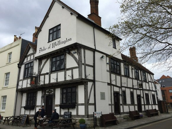 The Duke of Wellington Pub in Southampton Photo: Heatheronhertravels.com