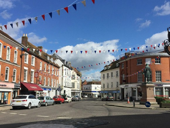 The Market Town of Romsey Photo: Heatheronhertravels.com