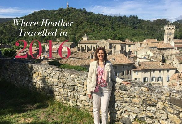 Where Heather travelled in 2016