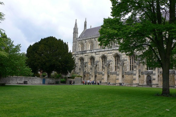 Winchester Cathedral Photo: Heatheronhertravels.com