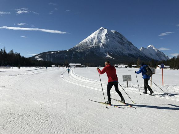 Cross-country ski at Leutasch