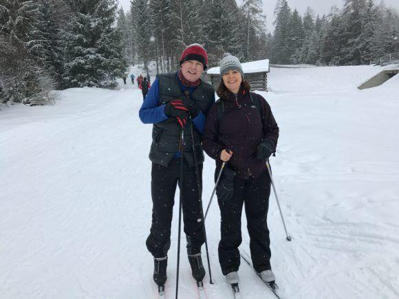 Cross-country ski in Seefeld, Austria Photo: Heatheronhertravels.com
