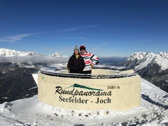 Panorama point at Seefeld Joch Photo: Heatheronhertravels.com