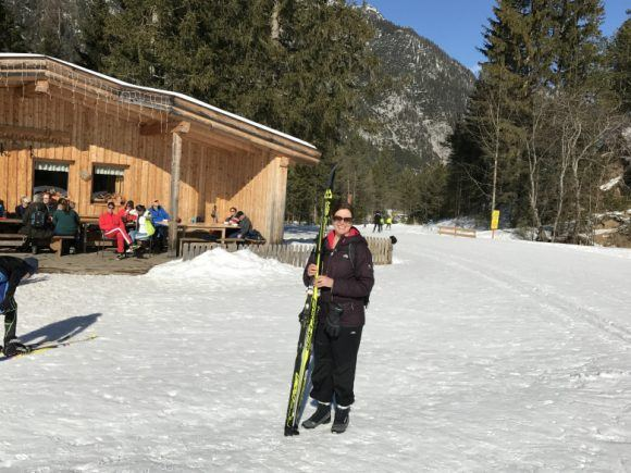 Cross-country ski in Leutasch