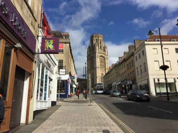 Park Street in Bristol photo: Heatheronhertravels.com