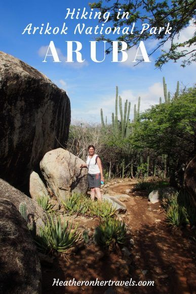 Read about hiking in Aruba's Narional Park