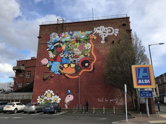 Cheo Upfest mural in Southville Photo: Heatheronhertravels.com