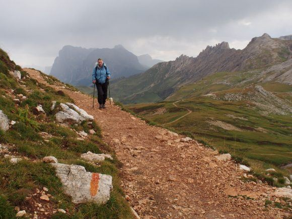 Hiking in the Dolomites South Tyrol