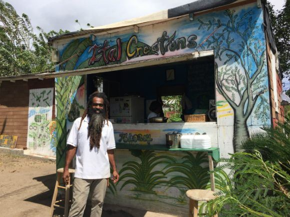 Ital Creations on St Kitts Photo: Heatheronhertravels.com