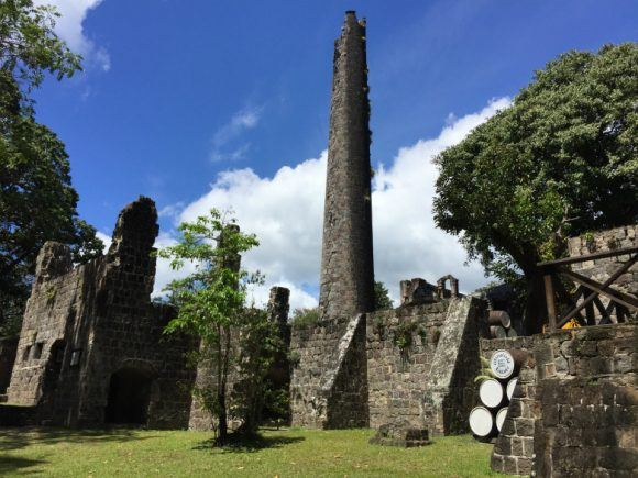 Restored sugar mill at the Wingfield Estate Photo: Heatheronhertravels.com