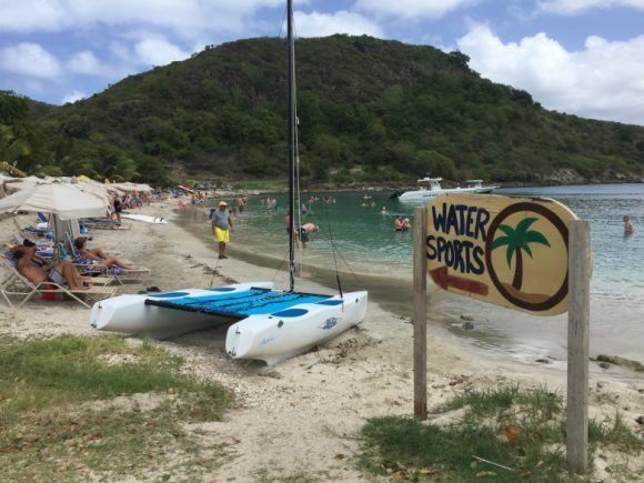Watersports on Cockleshell beach St Kitts Photo: Heatheronhertravels.com