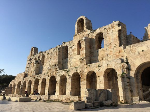 Odeion of Herodes Atticus in Athens Photo: Heatheronhertravels.com