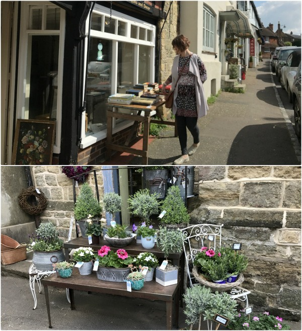 Shopping in Petworth, West Sussex Photo: Heatheronhertravels.com