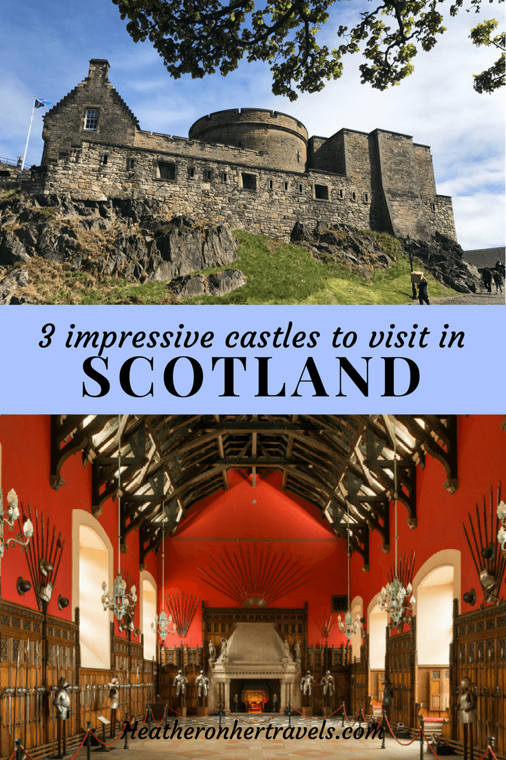 3 impressive Castles to visit in Scotland