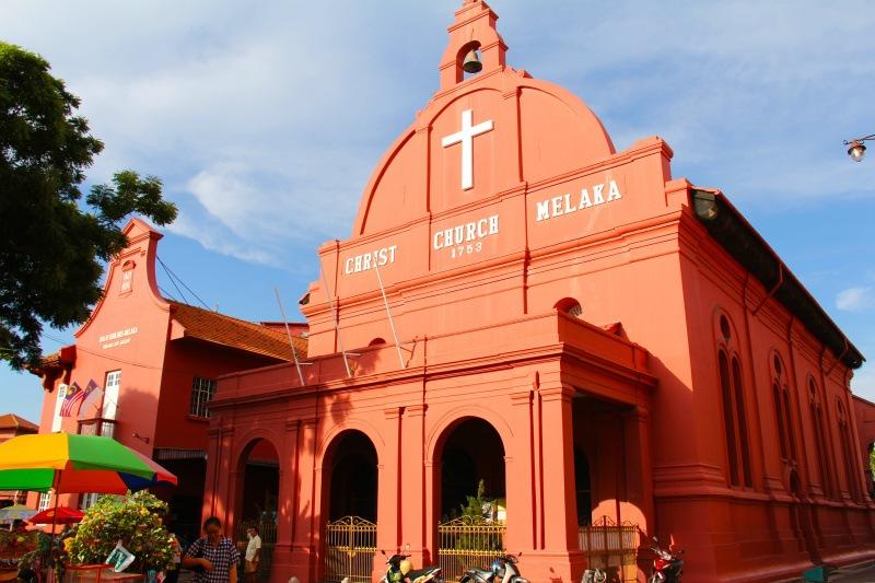 Church in Malacca Malaysia