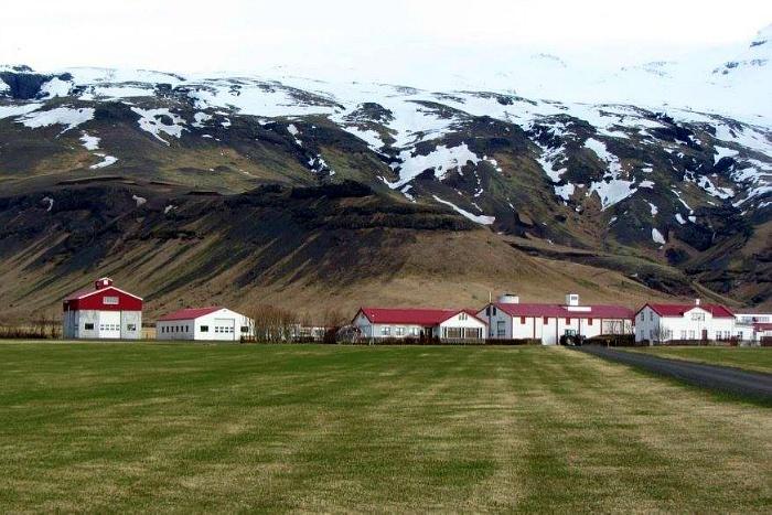 Eyjafjnallajokull volcano in Iceland
