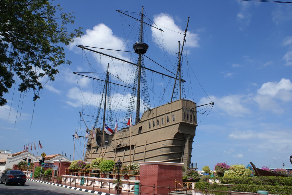 Maritime Museum Malacca - photo: Bentley Smith on Flickr