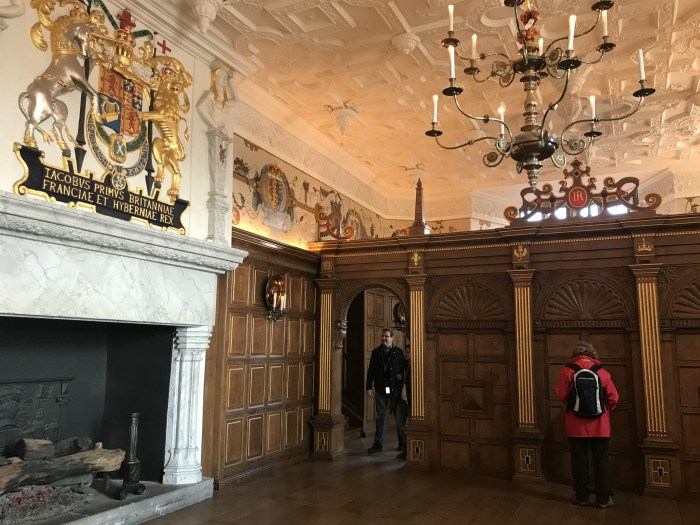 Royal apartments in Edinburgh Castle photo: heatheronhertravels.com
