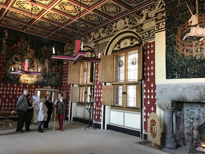 Tapestries in Stirling castle photo: Heatheronhertravels.com