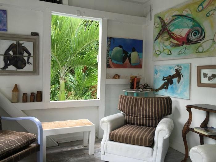 The Gallery Cafe on St Kitts Photo: Heatheronhertravels.com