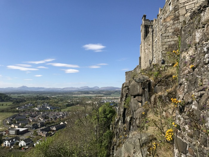 View from Stirling castle photo: Heatheronhertravels.com