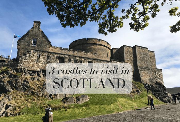 3 impressive castles in Scotland