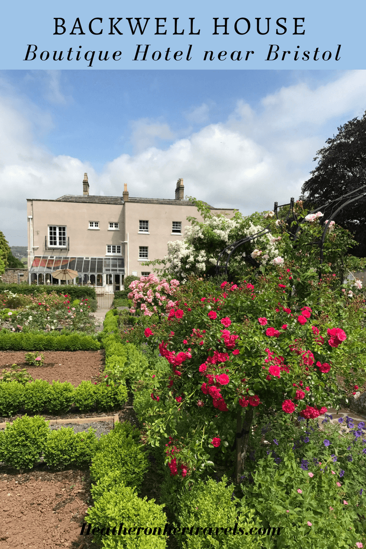Read about Backwell House boutique hotel near Bristol