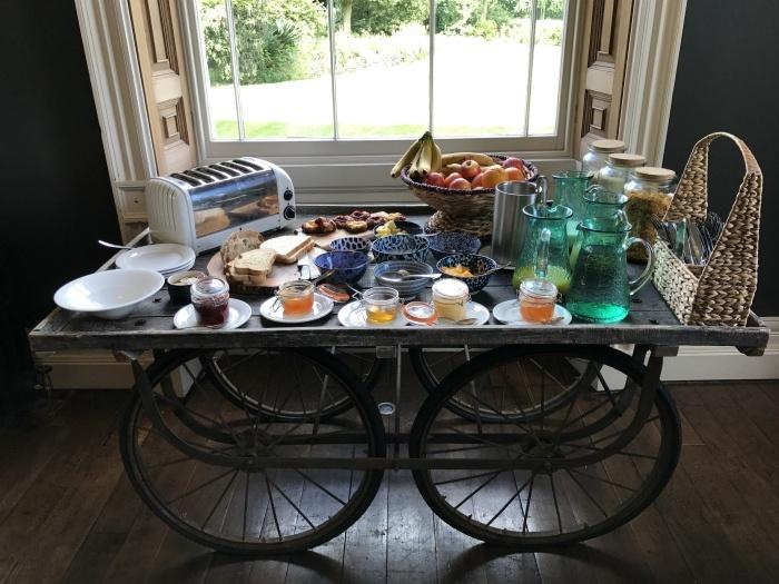 Breakfast at Backwell House Photo: Heatheronhertravels.com