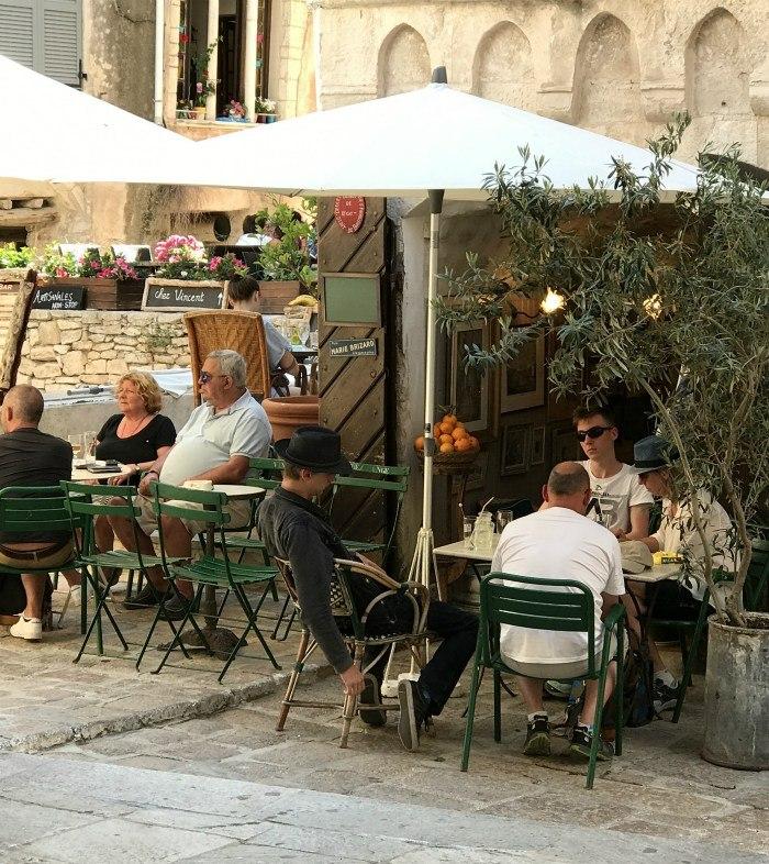 Cafe in Bonifacio Corsica Photo: Heatheronhertravels.com