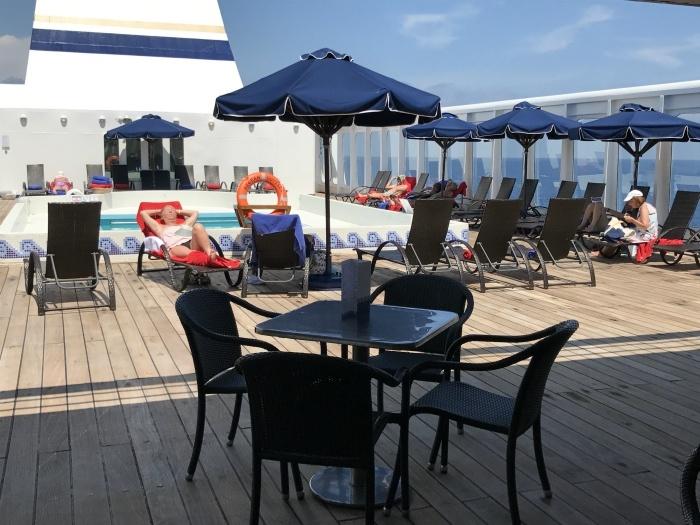 Lido deck on Aegean Odyssey