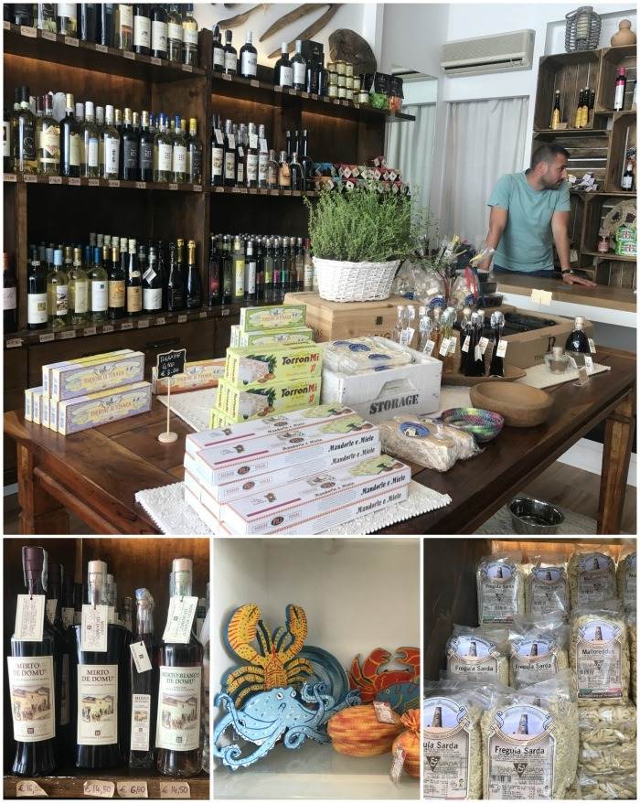 Local specialities in Olbia, Sardinia Photo: Heatheronhertravels.com