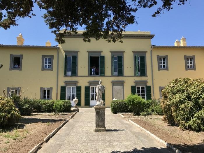 Napoleon's villa on Elba photo: Heatheronhertravels.com