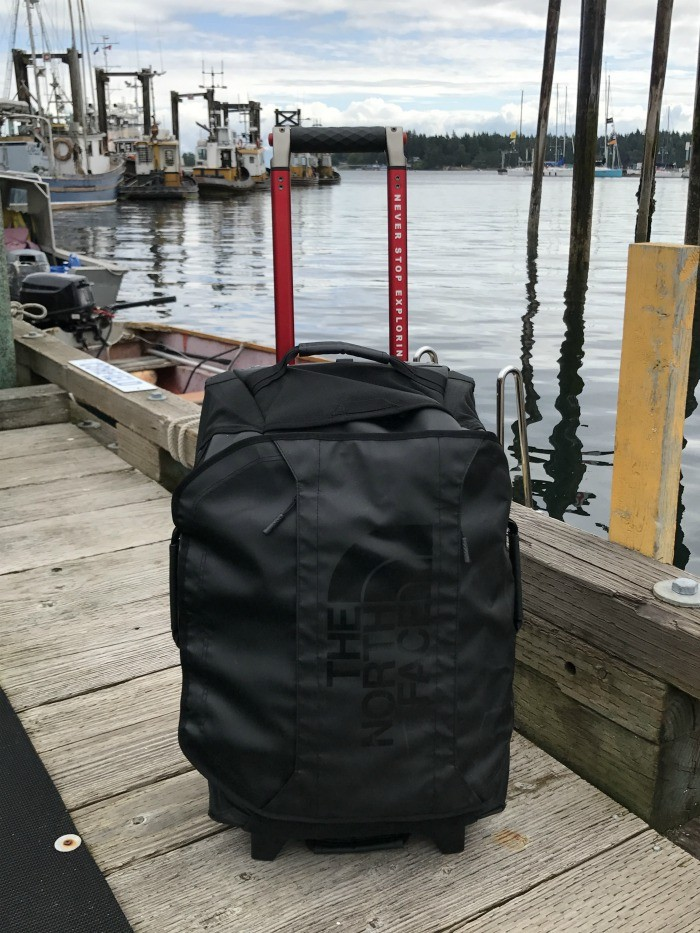 North Face Rolling Thunder 22 inch luggage from Millets Photo: Heatheronhertravels.com