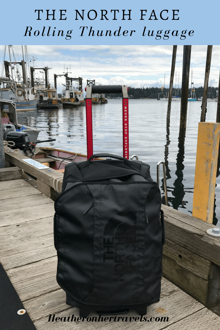 Read my review of The North Face Rolling Thunder luggage