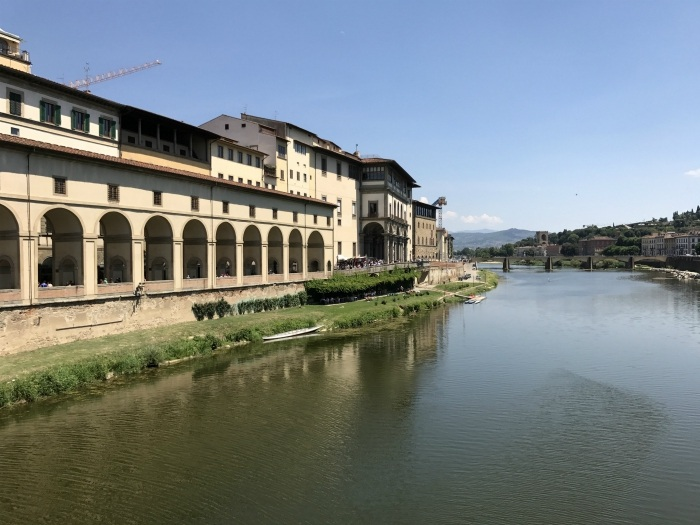 View from the Ponte Vecchio in Florence Photo: Heatheronhertravels.com