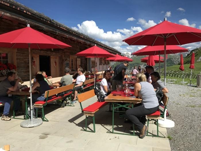Cafe in Vorarlberg near Lech Photo: Heatheronhertravels.com