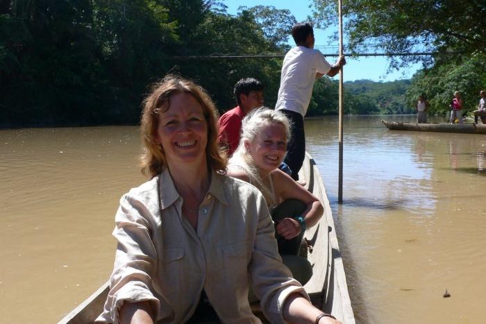 Ecuador river journey