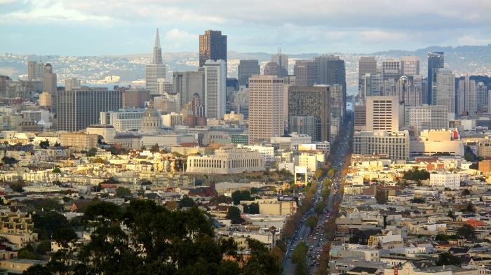 Financial district San Francisco