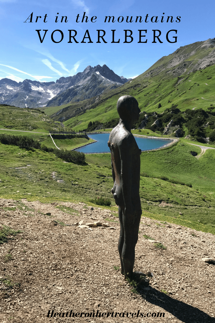 Read about Art in the mountinains in Vorarlberg, Austria