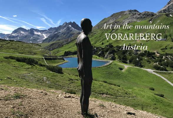 Read about Art in the mountins in Vorarlberg Austria