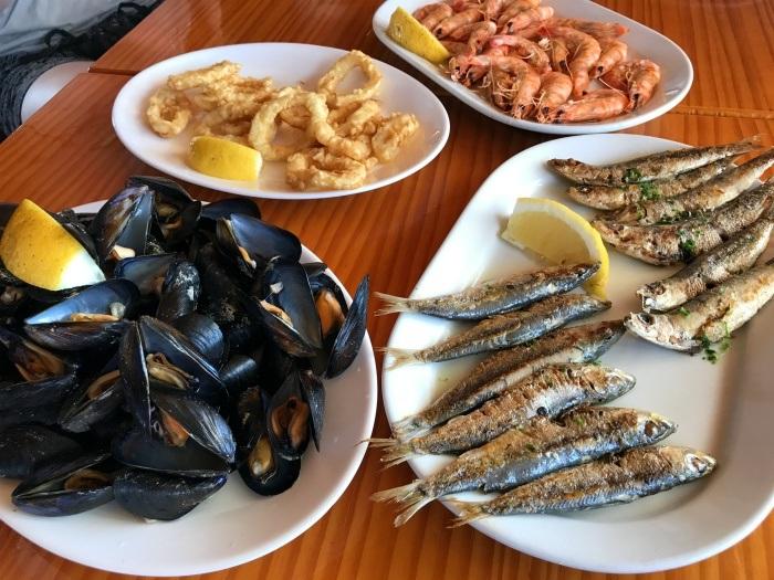 Seafood at Puerto Mar in Pensacola Photo: Heatheronhertravels.com