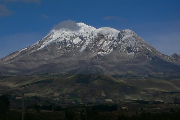 The Avenue of the Volcanoes in Ecuador