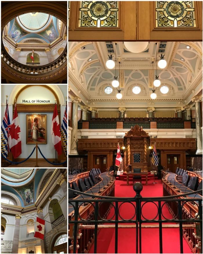 BC Parliament building in Victoria Canada Photo: Heatheronhertravels.com