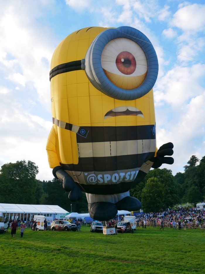 Bristol Balloon Fiesta 2017 Photo: Heatheronhertravels.com