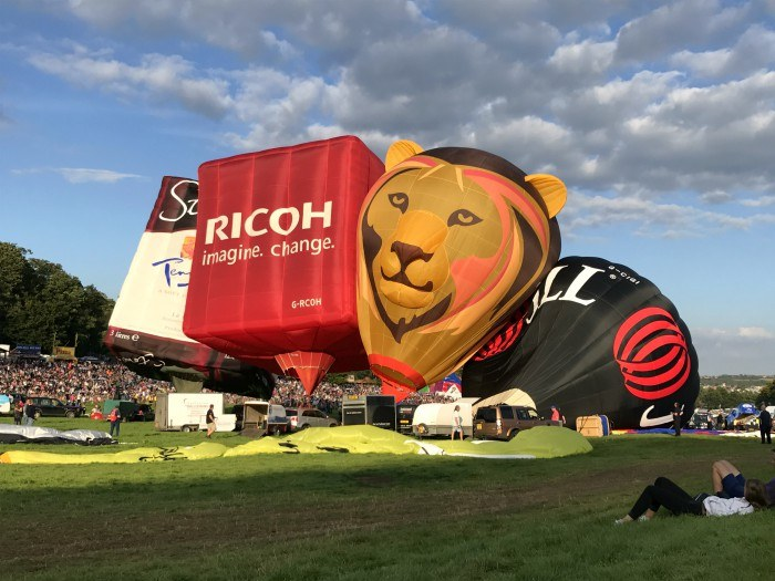 Bristol Balloon Fiesta Aug 17 Photo: Heatheronhertravels.com
