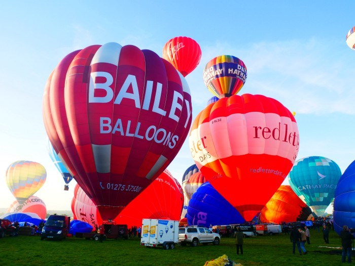 Bristol Balloon Fiesta Aug 2017 Photo: Heatheronhertrvels.com