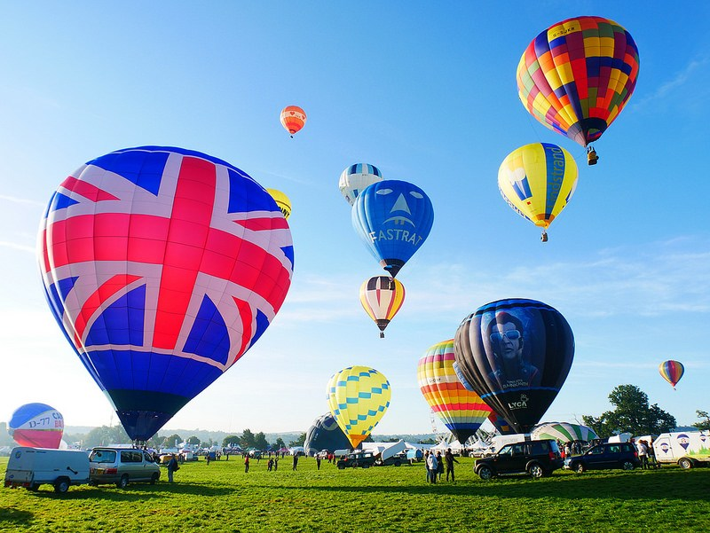 Read about Bristol balloon fiesta